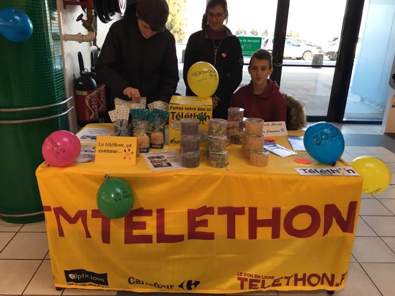 Participation Téléthon
