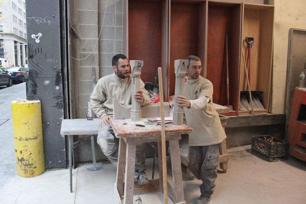 Création pour la journée de la sculpture