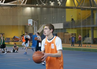 Pratique du basket