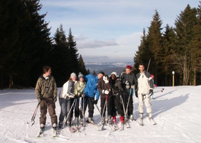 Sortie au ski