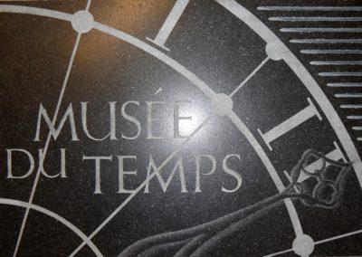 Signalétique Musée du temps