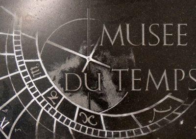 Signalétique Musée du temps 2