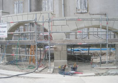 Chantier fontaine Boulevard Thiers