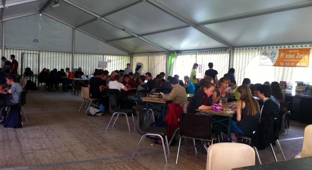 Visite au festival de littérature fantastique des Imaginales à Epinal