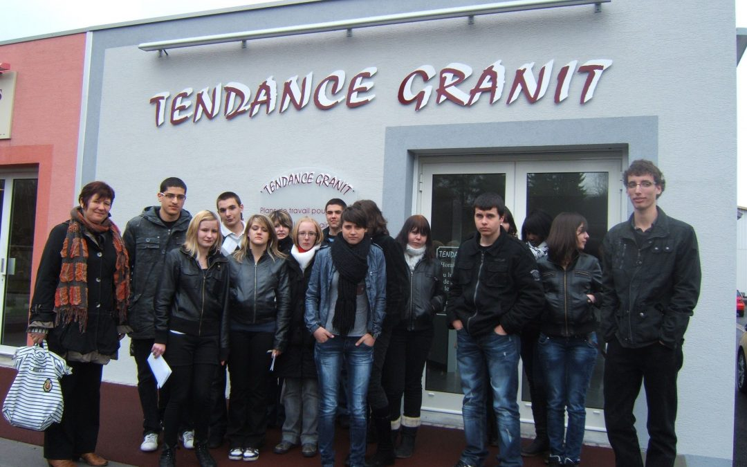 Visite de l'entreprise Tendance – Granit