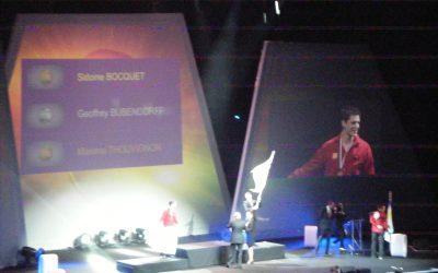 Cérémonie de clôture des 42° Olympiades des Métiers