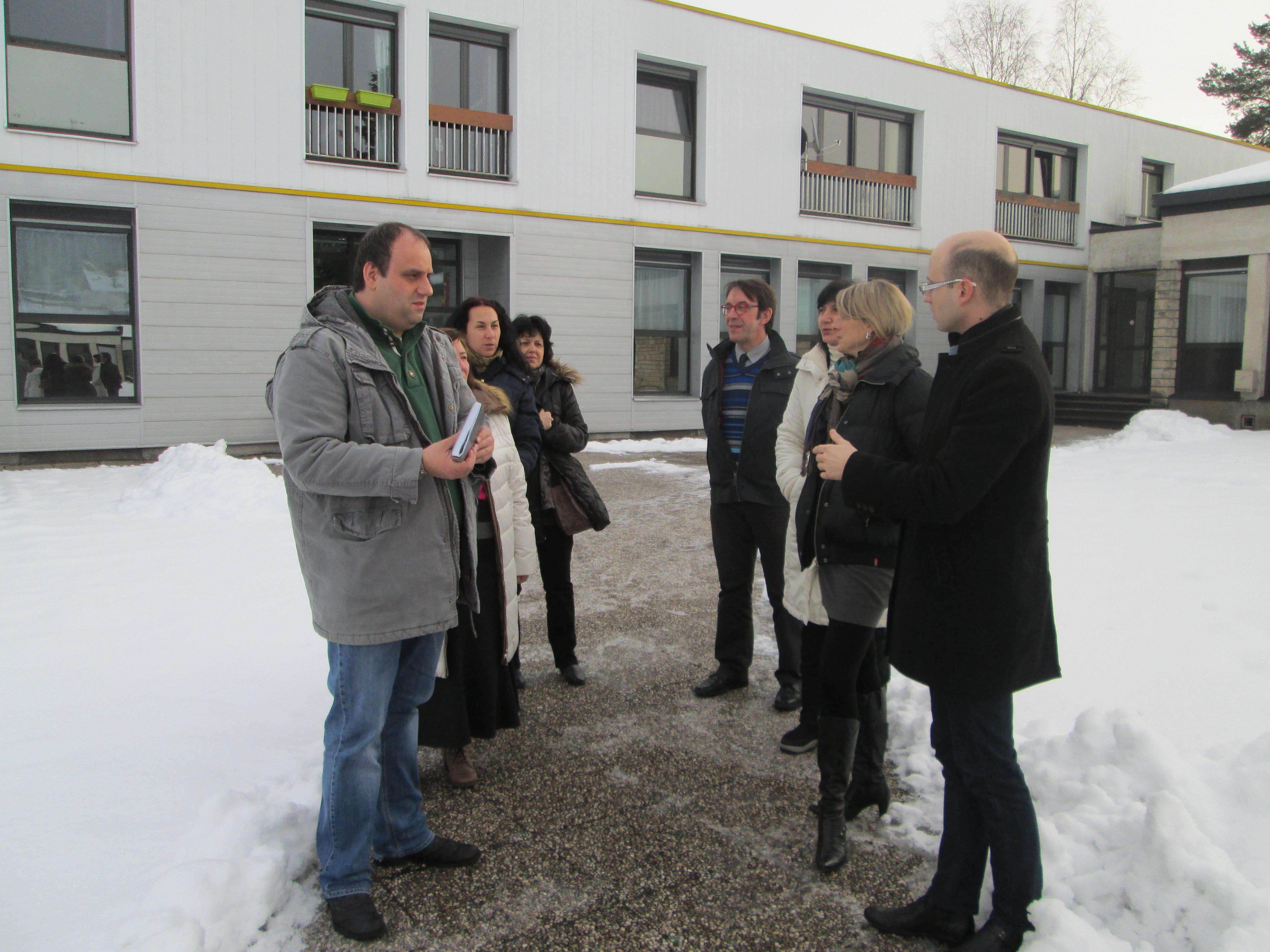 Visites enseignants bulgares