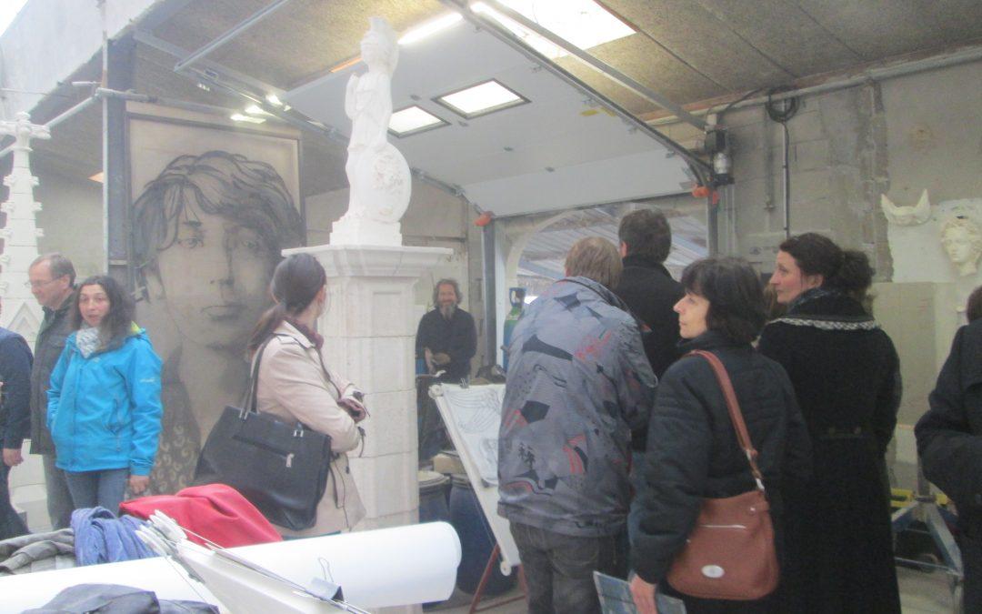Visite de professeurs des collèges du bassin de Remiremont