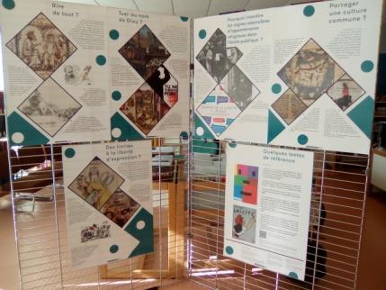 Exposition au centre de documentation et d'information
