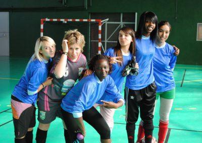 l'équipe féminine