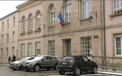 Visite de la 1° GA au tribunal correctionnel d'Epinal