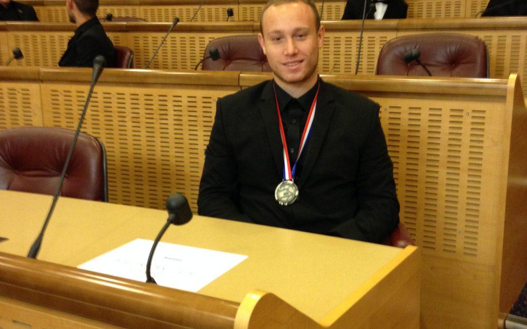 Remise des médailles pour les Olympiades des métiers