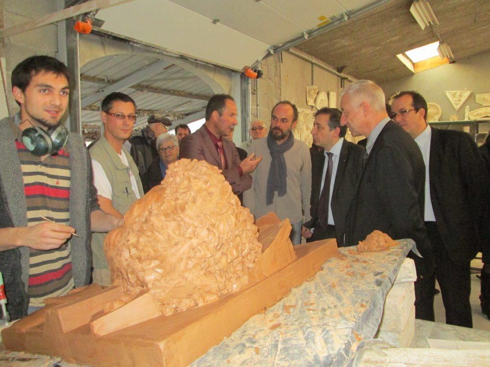 Visite de monsieur le recteur de l'académie Nancy-Metz