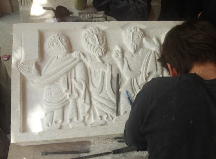 Présentation des travaux réalisés au monastère de Solan