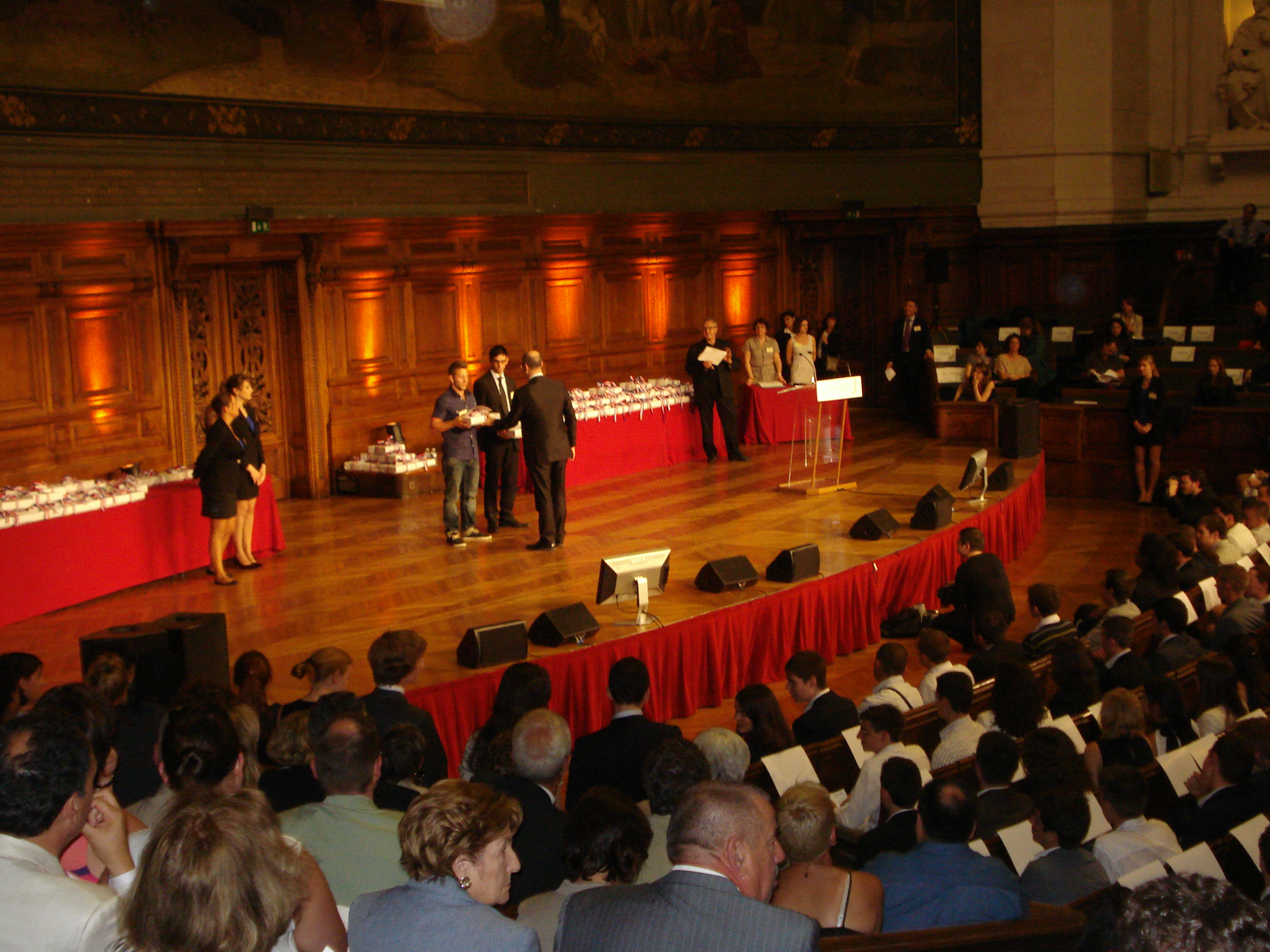 Concours général des métiers 2012