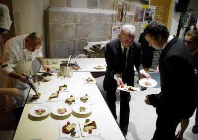 Le repas des chefs