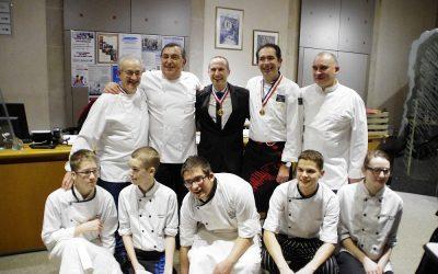 Section hotelière : le repas des chefs ou la cuisine étoilée