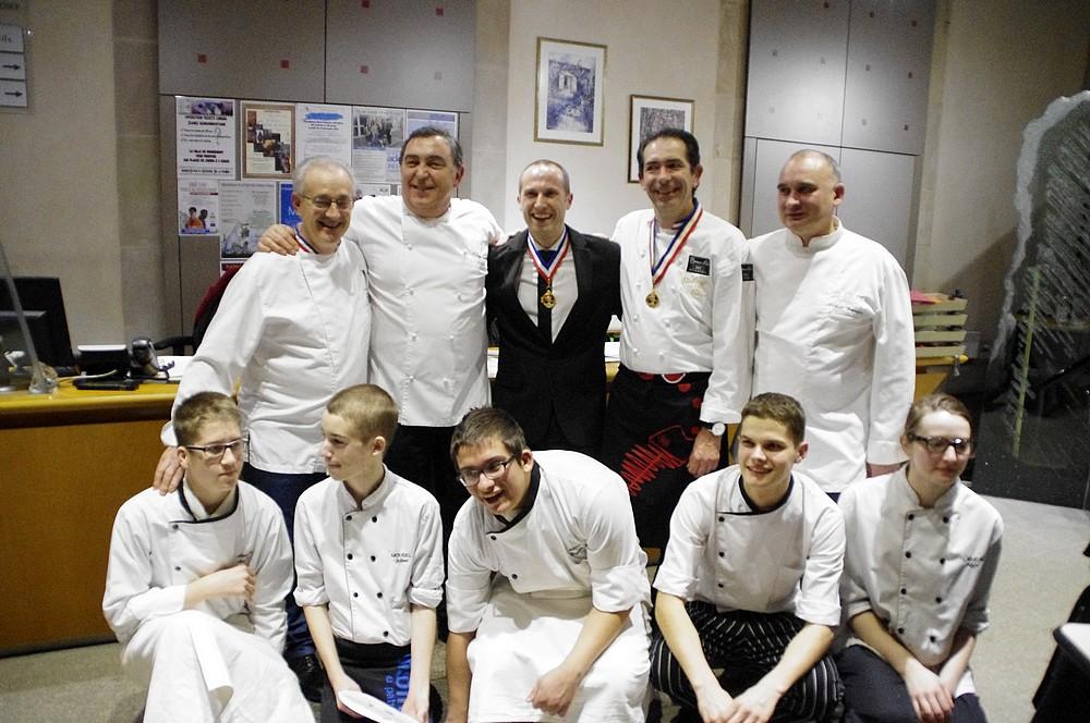 Section Hoteliere Le Repas Des Chefs Ou La Cuisine Etoilee