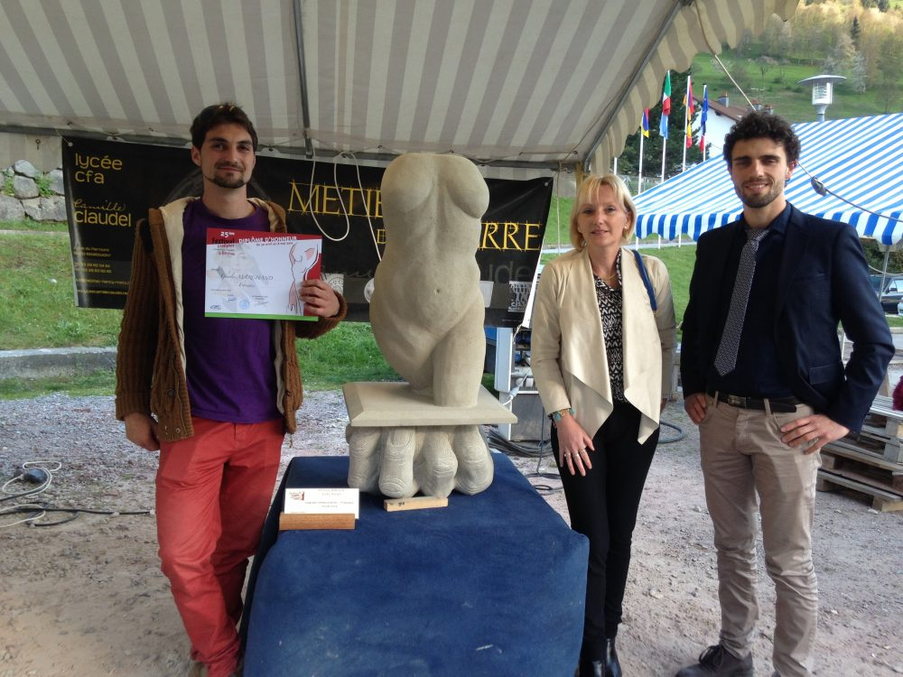 Charles Marchand, 1° prix de créativité