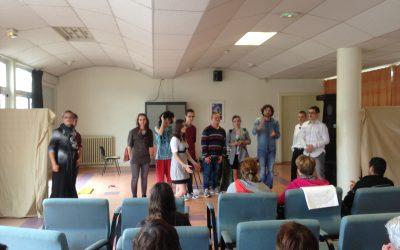 Au théatre avec les élèves de terminale CAP Agent Polyvalent de Restauration