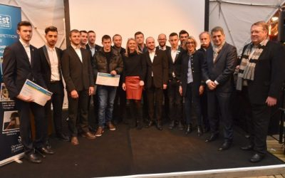 Olympiades des métiers : Les lauréats félicités par la région Grand-Est