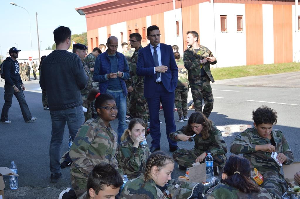 Participation au rallye citoyen au 1er régiment de Tirailleurs d'Epinal