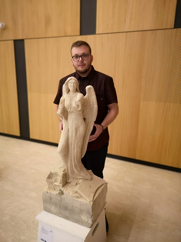 Nicolas BIES, premier prix de sculpture