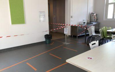 Covid 19 : Le Lycée Camille Claudel est prêt à accueillir les élèves